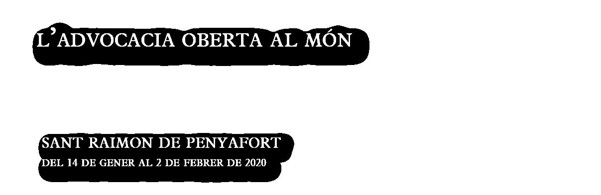 Sant Raimon de Penyafort 2020